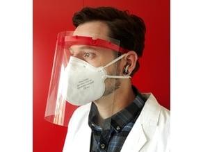 Face shield / Gesichtsschutz