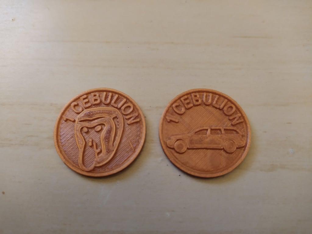 1 Cebulion (1 zł / PLN shopping cart coin)