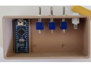 Control box with ArduinoNano, Light & Fan switch for Enclosure