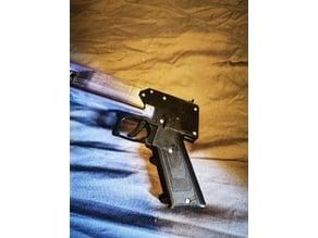Pistol Grip Sliding Legolini Slingshot