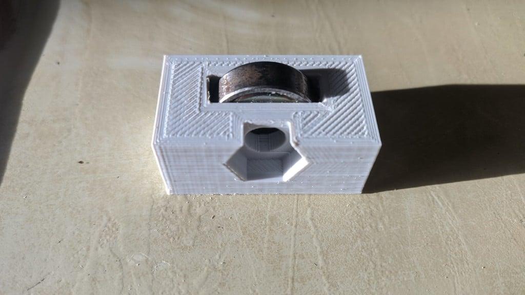 608ZZ Bearing holder for 'Arduino mini CNC plotter'