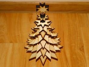 Lasercut Christmas tree