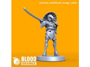 Kunoichi - Blood Orange Miniature