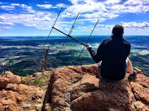 Hiking Pole Yagi Antenna