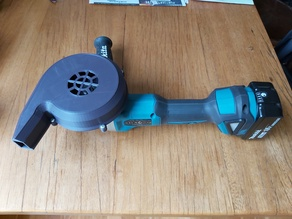 air blower angle grinder