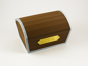 Treasure Chest with name tag