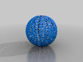 Voronoi Ball Lampshade