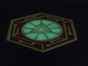 Glowing Iron Man Coaster