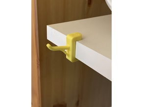 Shelf-Hook Typ 6 for 19mm Boards (P-SLOT system)