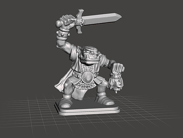 HeroQuest - Orc Warlord ULAG