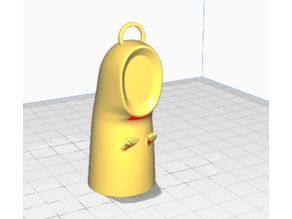 Kaonashi Figure - Spirited Away Keychain