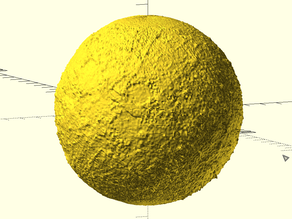 Spherical Texture Mapping for OpenSCAD