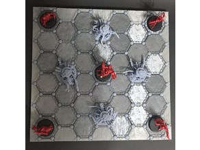 Combat Arena Game Board Tiles