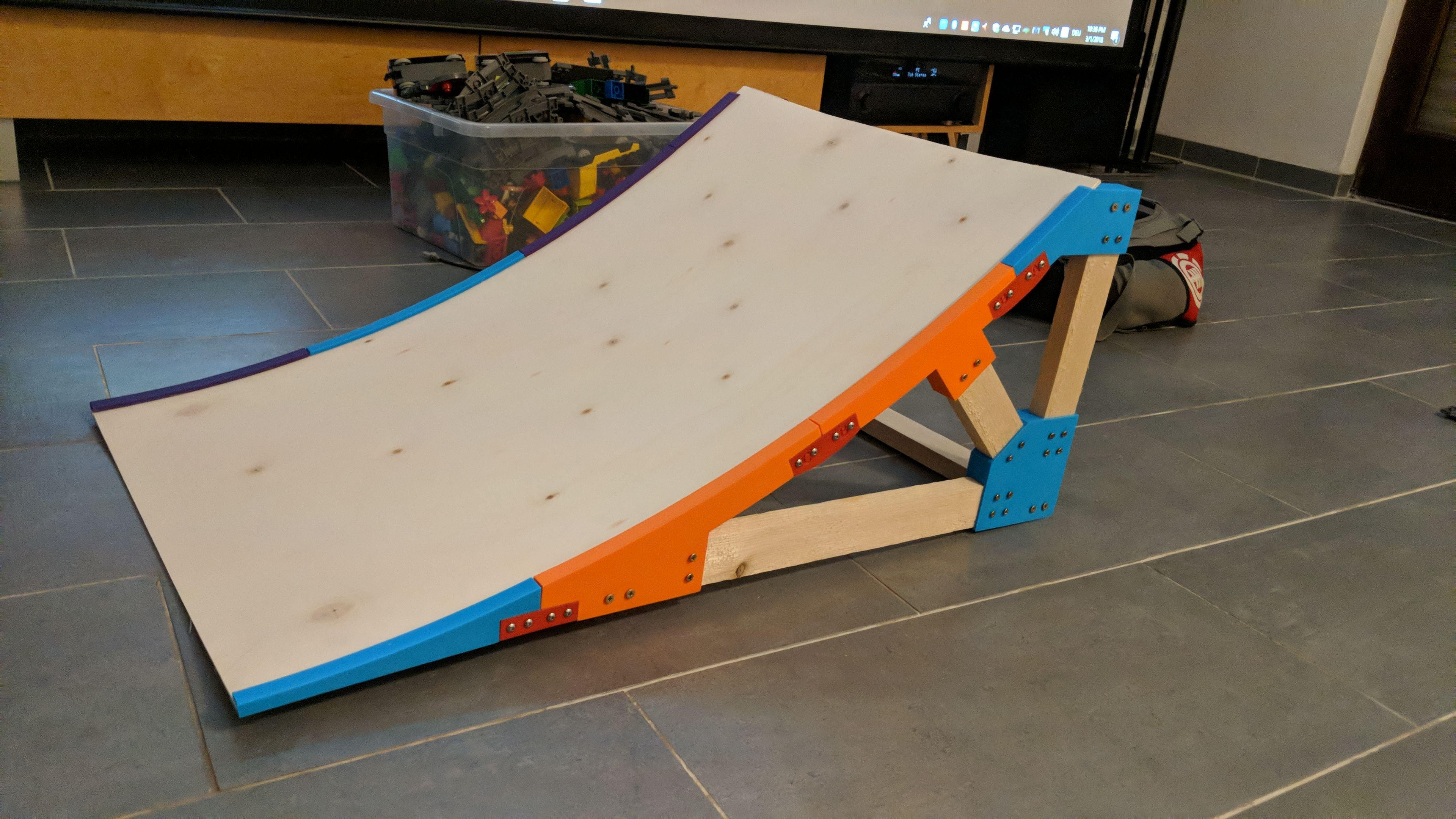 rc car ramp by mulder thingiverse. Black Bedroom Furniture Sets. Home Design Ideas