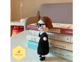 Crochet Doll Glasses