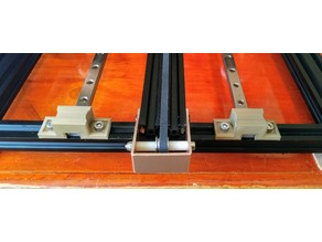 Linear rail mount for 2020