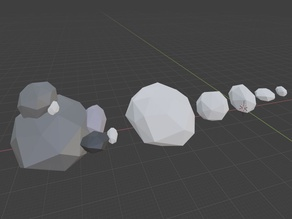 Rocks low poly