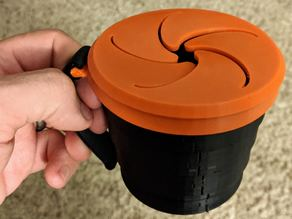 Kids Collapsible Snack Cup