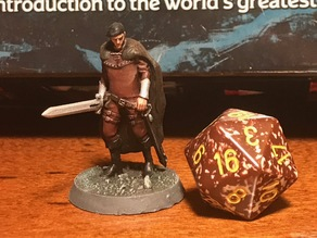 Falcon the Hunter NPC from the D&D Essentials kit
