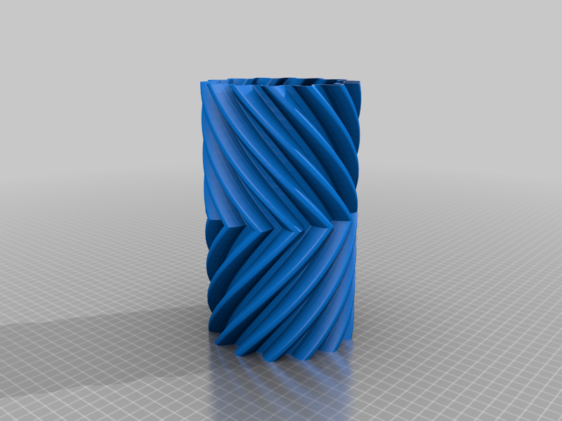 Helical Gear Vase