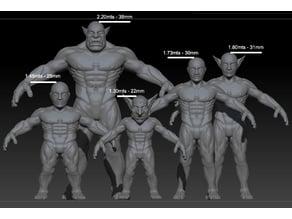 Medieval Fantasy Characters Base models