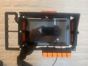 A bottom mounted keyboard for the ARM Terminal