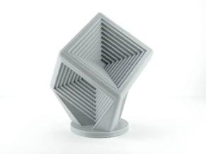 Cube minus Cubes