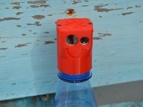 Bottle pencil sharpener (container)