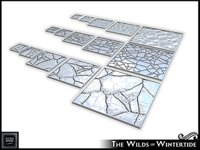 Wilds of Wintertide - Square Bases