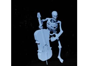 Cello Skeleton Miniature