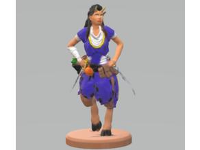 Satyr Female Rogue