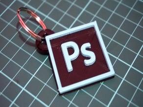 Adobe CC Photoshop Keychain
