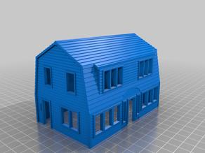 HO Scale Papa's House