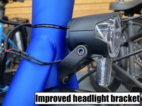 Replacement headlight mount for Trek Allant+ e-bike