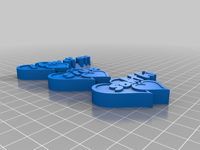 "My Customized Heart Shaped Buttons ""Words from the Heart"""