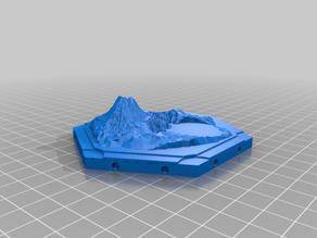 Catan 3D new ore hex