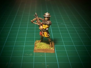 Crossbowman 2 28mm (No supports)