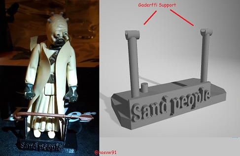 Stand for action figure Star Wars by Kenner