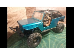 Jeep Crawler Body (SCX10 clone compatible)