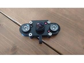 Raspberry Pi camera night vision case with auto IR filter cut