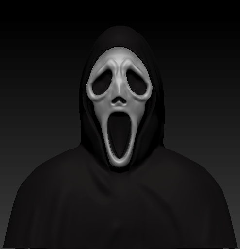 Ghostface Bust