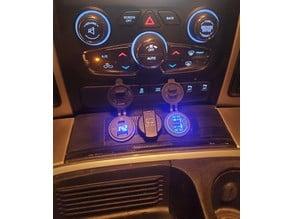 Dodge Ram USB panel
