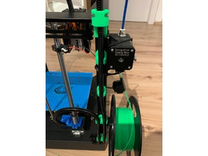 Sapphire Pro / S - Heatbed and Hotend cable holder / clamps