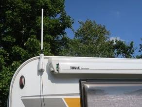 Wall mount for Alfa Tube-U Wifi antenna