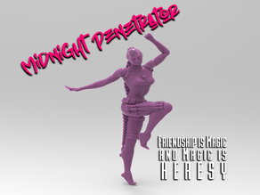 The Midnight Penetrator - Red Light Special