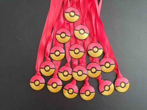 Pokeball medal/necklace