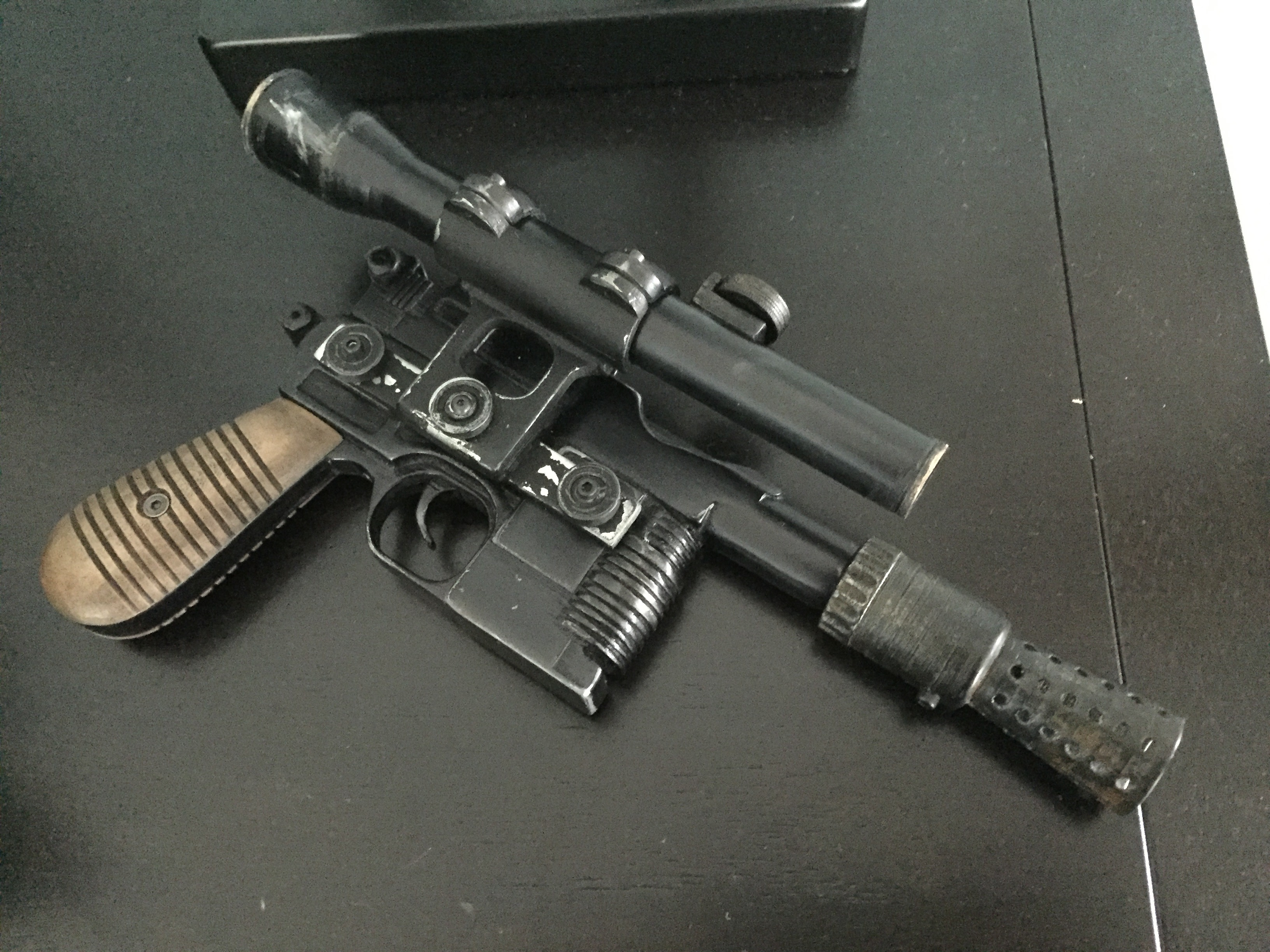 Han Solo Blaster (DL-44) by theFPVgeek - Thingiverse