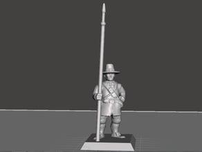 Supportless_English_Civil_War_Light_Pikemen