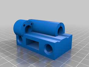 X axis belt  tensioner support
