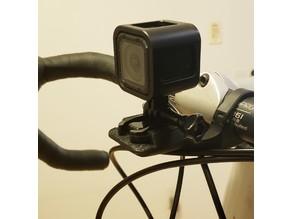 Wahoo Elemnt GoPro locking adapter